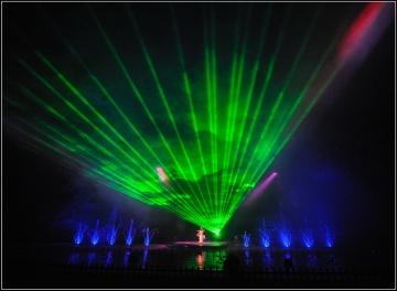 承接全国激光工程,3d激光秀激光舞等创意节目