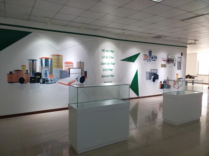烟台文化绿叶展厅