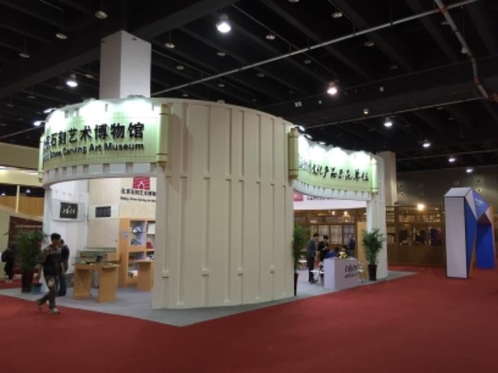 义乌新引进的铝制框架式展览系统,便携式环保型展台搭建系统