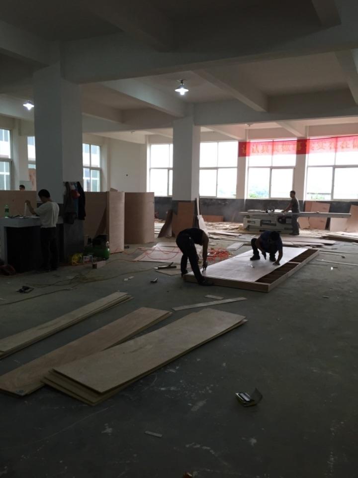 义乌木结构展台制作搭建、桁架搭建、铝型材环保展台搭建