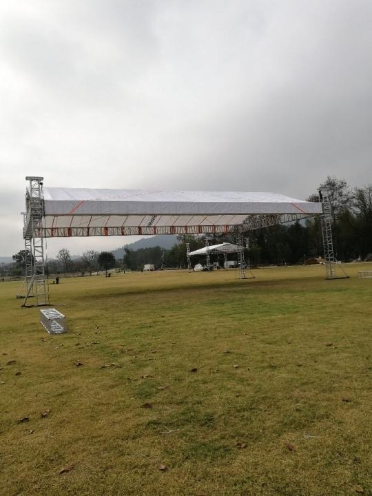 温州灯光架桁架舞台搭建