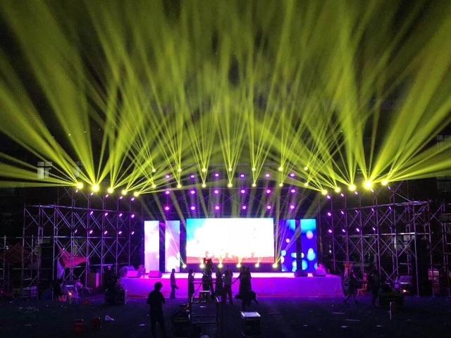 长春出租舞台,灯光,音响,大屏幕,架体