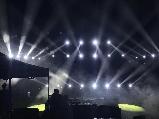三亚自己仓储的灯光设备,音响设备,LED屏和各类活动中常用的物料道具设备
