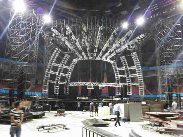 珠海灯光、音响、舞台、P3 LED高清大屏、等演出物料