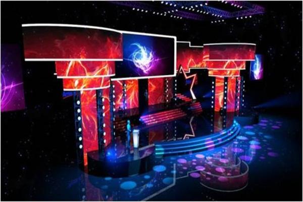 武汉2013希望之星舞美设计