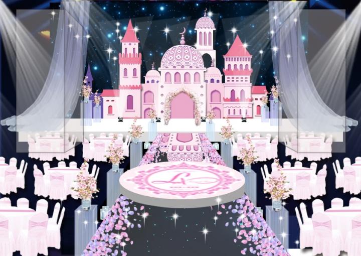 福州婚礼效果图