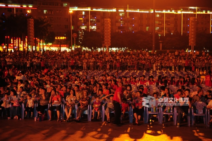 惠州博罗县2012年3.15文艺晚会