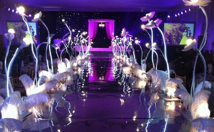 株洲灯光主题婚礼