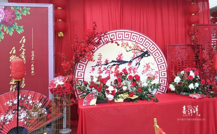 抚州农村庭院婚礼系列