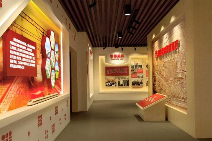 百色中国铁路集团总公司百色铁路地区南昆精神展厅