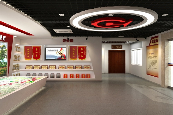 百色中国铁路集团总公司荣誉展厅