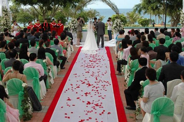 南宁海边婚礼