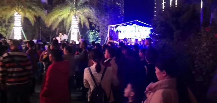 玉林梦幻灯光节活动